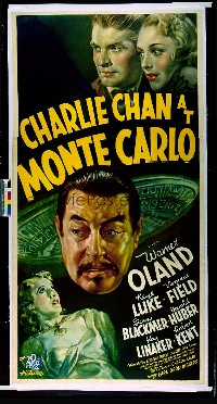 013 CHARLIE CHAN AT MONTE CARLO linen 3sh