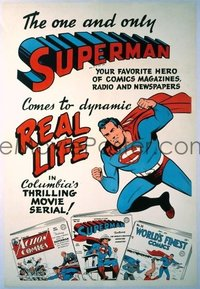 671 SUPERMAN ('48) linen, advance 1sheet