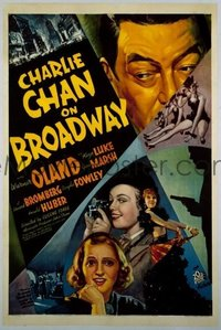 114 CHARLIE CHAN ON BROADWAY linen 1sheet