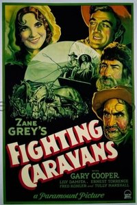 165 FIGHTING CARAVANS paperbacked 1sheet