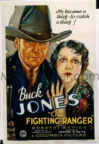 318 FIGHTING RANGER ('34) linen 1sheet
