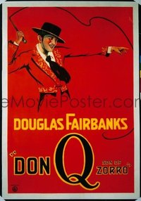 197 DON Q SON OF ZORRO linen 1sheet