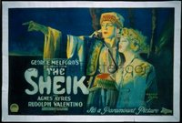 042 SHEIK paperbacked, horizontal 1sheet