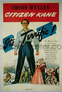 266 CITIZEN KANE linen 1sheet