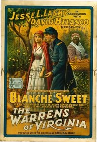 093 WARRENS OF VIRGINIA ('15) linen 1sheet
