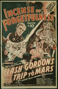 057 FLASH GORDON'S TRIP TO MARS linen 1sheet