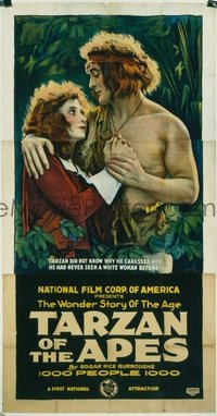 153 TARZAN OF THE APES linen 3sh