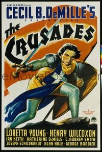 053 CRUSADES paperbacked 1sheet
