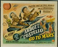 293 ABBOTT & COSTELLO GO TO MARS TC LC