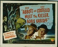287 ABBOTT & COSTELLO MEET THE KILLER BORIS KARLOFF TC LC
