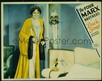 176 DUCK SOUP ('33) #3, Groucho & girl in nightgown LC