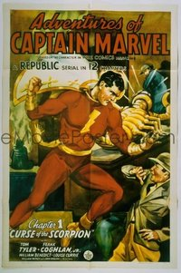 258 ADVENTURES OF CAPTAIN MARVEL 1sheet