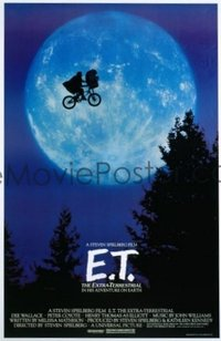 166 E.T. THE EXTRA TERRESTRIAL 1sheet