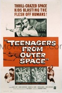 130 TEENAGERS FROM OUTER SPACE 1sheet