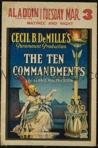 #153 10 COMMANDMENTS WC '23 Cecil B. DeMille