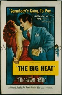 180 BIG HEAT ('53) linen 1sheet