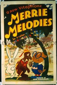 173 MERRIE MELODIES 1sheet