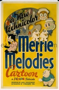 149 MERRIE MELODIES linen, stock 1sheet