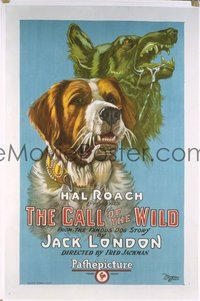 182 CALL OF THE WILD ('23) linen 1sheet