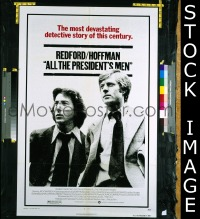 #077 ALL THE PRESIDENT'S MEN 1sh '76 Hoffman