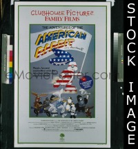#006 ADVENTURES OF THE AMERICAN RABBIT 1sh 86