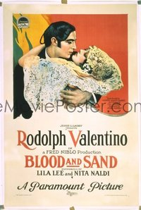 139 BLOOD & SAND ('22) linen 1sheet