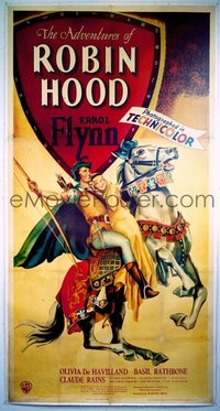 120 ADVENTURES OF ROBIN HOOD linen 3sh