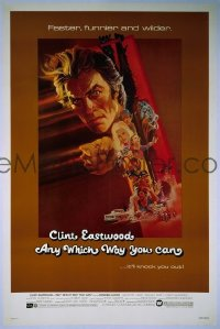 #037 ANY WHICH WAY YOU CAN 1sh '80 Eastwood