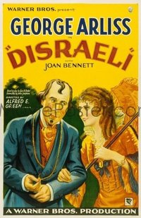 036 DISRAELI ('29) paperbacked 1sheet