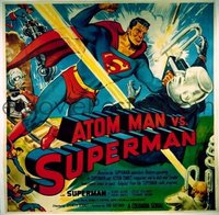 674 ATOM MAN VS SUPERMAN linen 6sh