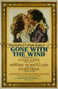 101 GONE WITH THE WIND linen 1sheet