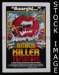 #047 ATTACK OF THE KILLER TOMATOES 1sh '78
