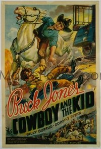 073 COWBOY & THE KID linen 1sheet