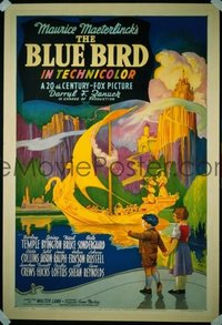 091 BLUE BIRD ('40) linen 1sheet