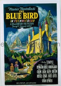 248 BLUE BIRD ('40) linen 1sheet