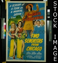 #060 2 SENORITAS FROM CHICAGO 1sh '43 Davis