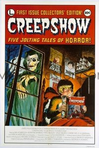 v007 CREEPSHOW linen int'l 1sh '82 EC-like art by Kamen!