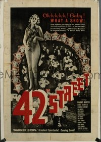 355 42ND STREET ('33) FF, special 1sheet