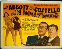 321 ABBOTT & COSTELLO IN HOLLYWOOD TC LC