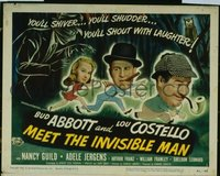 289 ABBOTT & COSTELLO MEET THE INVISIBLE MAN TC LC