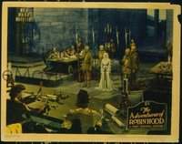 2108 ADVENTURES OF ROBIN HOOD lobby card '38 Olivia de Havilland