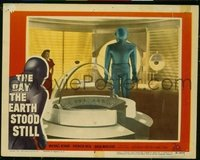 v116d DAY THE EARTH STOOD STILL  LC #2 '51 Gort in ship!