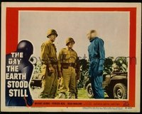 v116e DAY THE EARTH STOOD STILL  LC #4 '51 Rennie & Army!