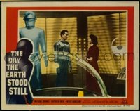 v116a DAY THE EARTH STOOD STILL  LC #5 '51 Klatu,Gort,Neal