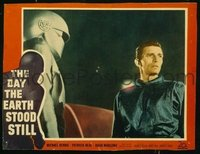 v116b DAY THE EARTH STOOD STILL  LC #7 '51 Rennie & Gort!