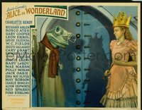 028 ALICE IN WONDERLAND ('33) #2, frog & queen LC