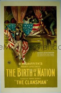 267 BIRTH OF A NATION linen 1sheet