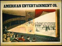 003 AMERICAN ENTERTAINMENT CO linen special poster