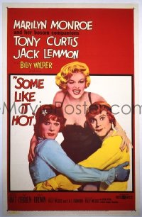 177 SOME LIKE IT HOT ('59) 1sheet
