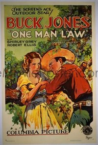 063 ONE MAN LAW 1sheet